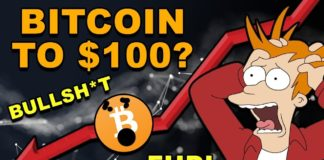 Bitcoin to $100? - BULLSH*T FUD! - CryptoCurrency Market News