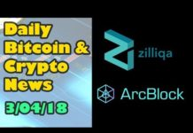 Top Platform Coins Reviewed Including Zilliqa and ArcBlock [Bitcoin and Cryptocurrency News]